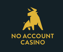 Logo No account casino